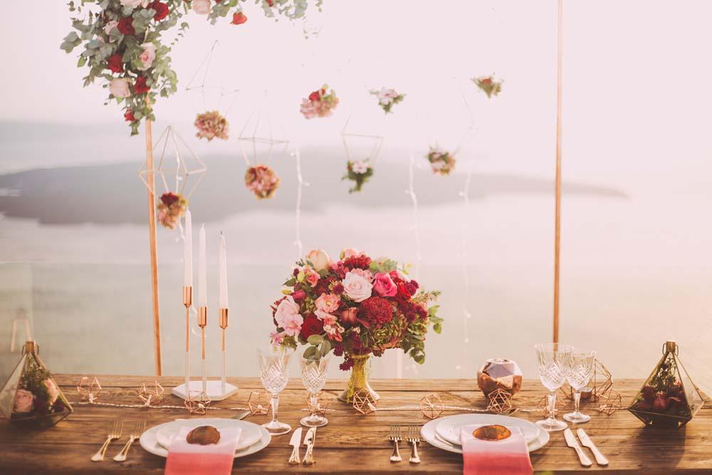 DUKA MED ROSA på bröllopet