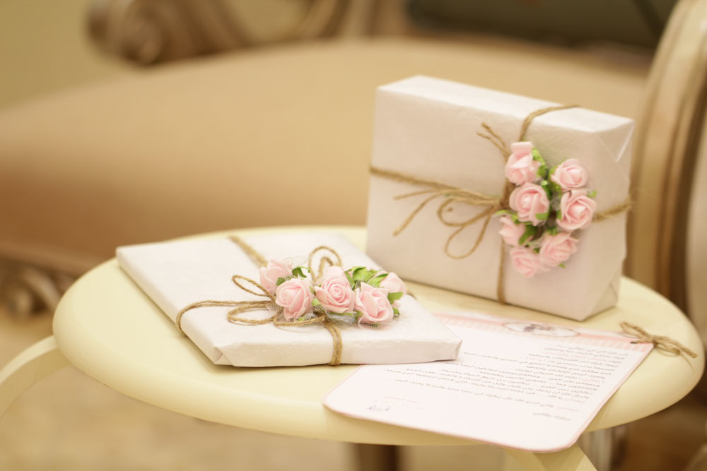 Bröllopspresenter till det lyckliga paret