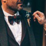De senaste trenderna för brudgummen