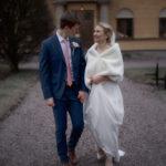 Bröllopsfotografering innan vigseln