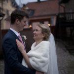 Bröllopsfotografering på vintern
